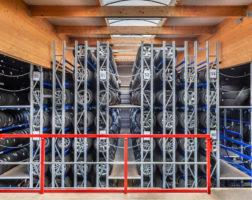 System magazynowania opon